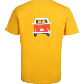 Elkline Methusalem T-Shirt Homme, goldenyellow